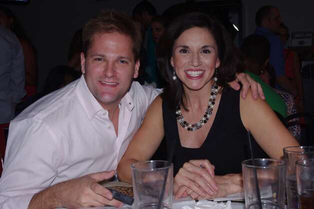 ABC 13 weekend anchor Elissa Rivas and her husband, Fox 26 morning