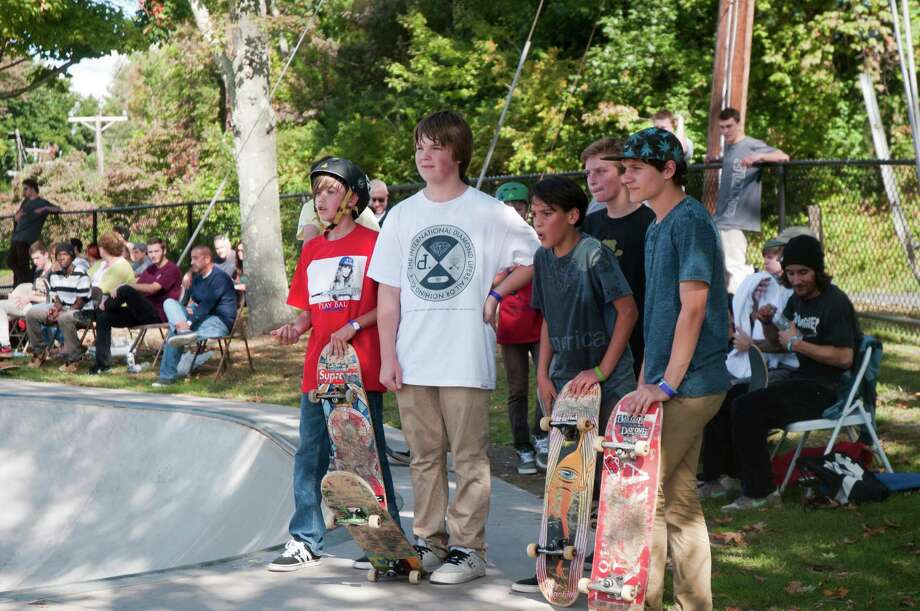 SEEN AT: Skate Contest at Newtown Skate Park 09.28.13 Photo: Ryan Loewy