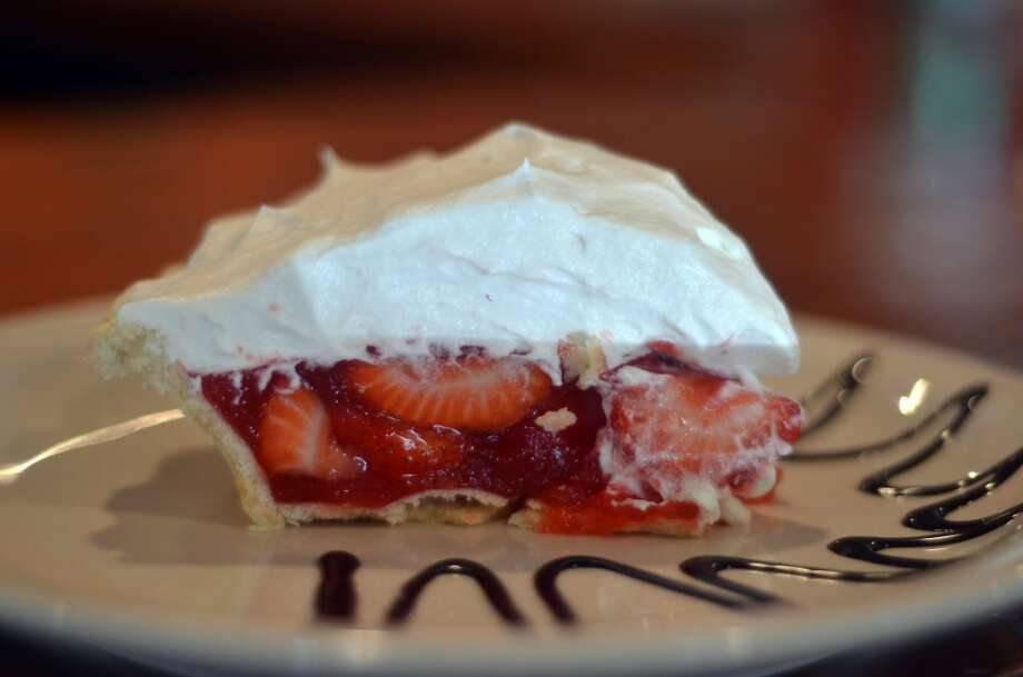 The strawberry pie at Lucy's Cafe & Bakery in Orange. Photographed Sept. 17, 2013. Photo: Cat5