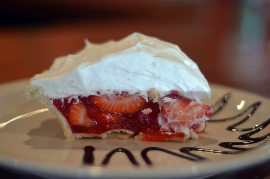 Strawberry PieWhere: Lucy's Cafe & Bakery, 2488 MLK Jr. Dr, Orange Photo: Cat5