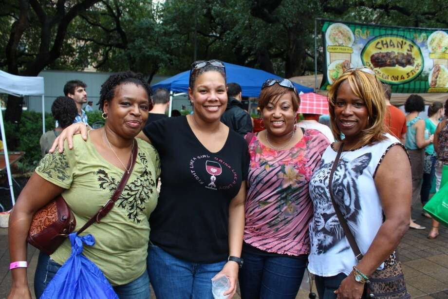 The 2013 Houston Wine Festival continues at noon Sunday, Sept. 29, at Hermann Square Park. Photo: Jorge Valdez, For The Chronicle