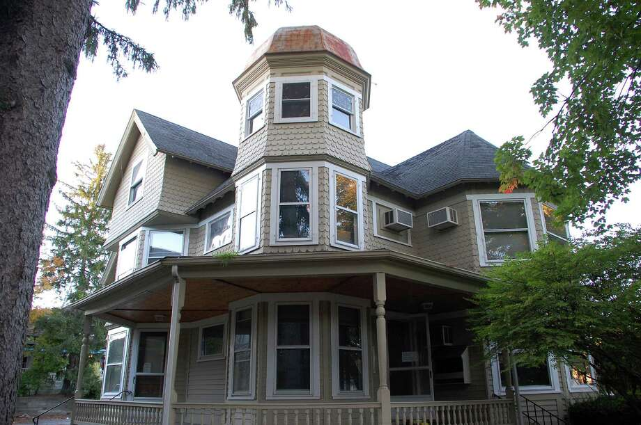 The Gunn House at 35 Church Lane Photo: Jarret Liotta / Westport News contributed