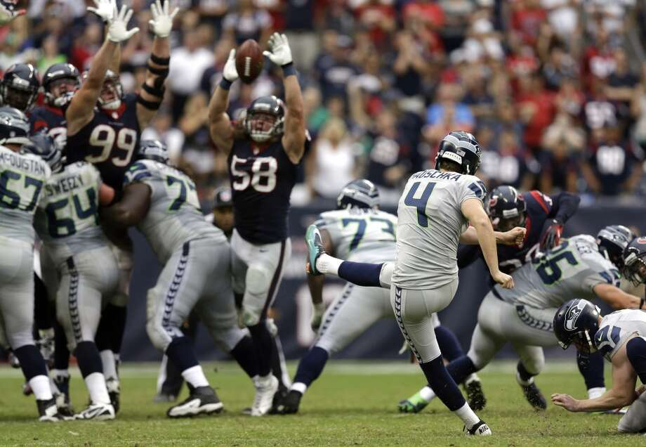 What we learned: Seahawks 23, Texans 20  We will admit, it didn't look good. Down 20-6 on the road to a good team in fourth quarter, it seemed inevitable that the Seattle Seahawks were facing their first defeat of the 2013 NFL season.  But what NFL observers -- and particularly the Houston Texans -- found out Sunday was that even on their worst day, the Seahawks are going to require the opposition to bring a complete effort for four quarters to beat this relentless, resilient team.  With a comeback effort that included contributions from offense, defense and special teams -- culminating in Steven Hauschka's 45-yard game-winner in overtime -- the Seahwaks secured their first 4-0 record in team history and put the rest of the league on notice.  Click through the gallery to see what we identified as the major takeaways from Sunday's monster comeback. Photo: David J. Phillip, Associated Press