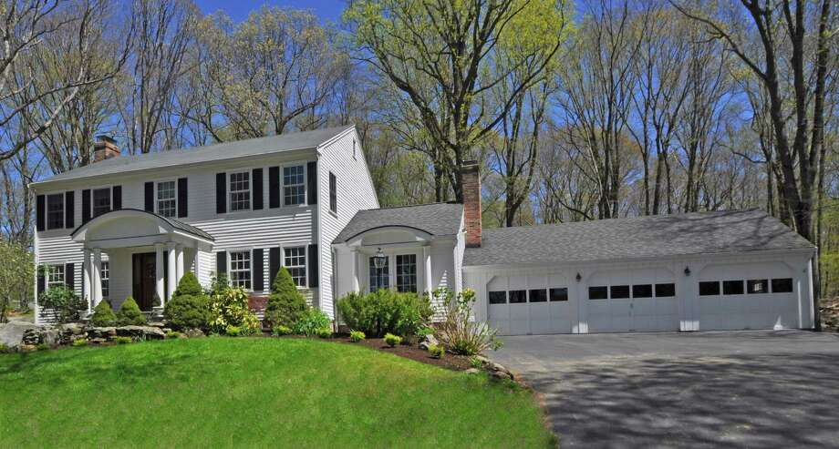 The house at 300 Half Mile Road is on the market for $1,195,000. Photo: Contributed Photo / Fairfield Citizen contributed