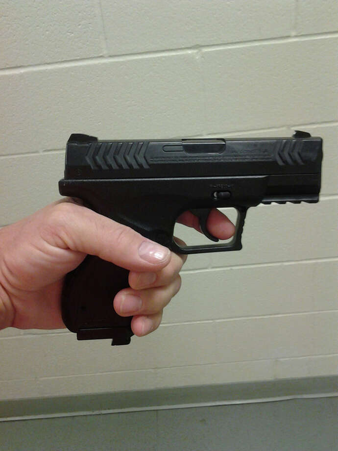 Pellet gun photo from Troy Police. Sept. 29, 2013