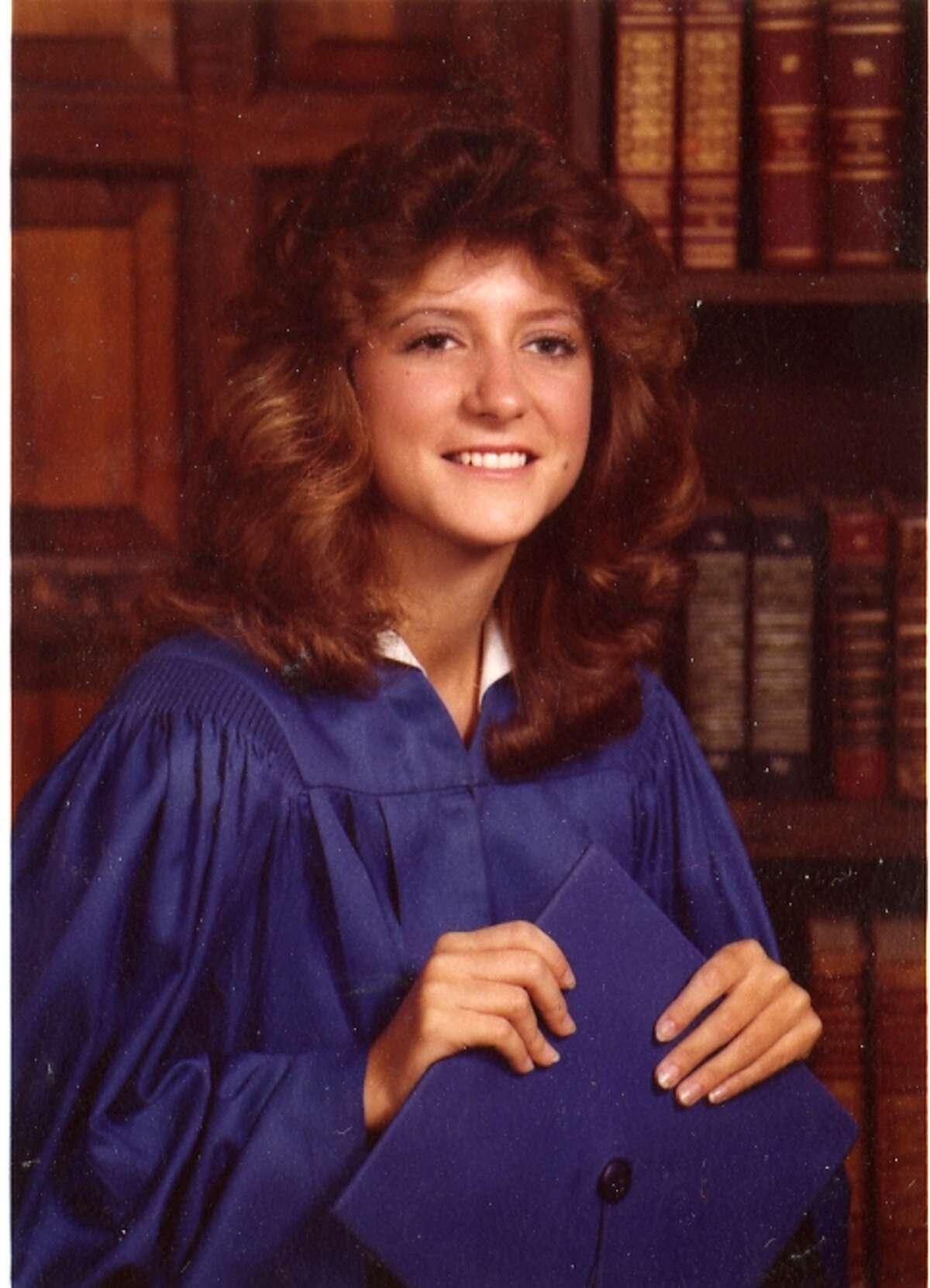 Wendy Davis high school graduation photo, Richland High School 1981.