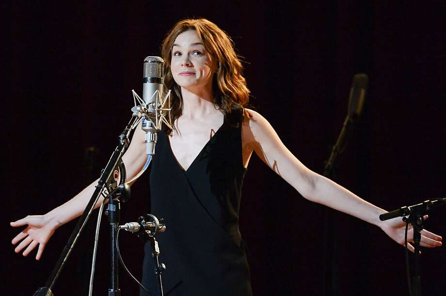 "Actress Carey Mulligan performs at ""Another Day, Another Time: Celebrating the Music of Inside Llewyn Davis"" at The Town Hall on Sunday, Sept. 29, 2013 in New York. (Photo by Evan Agostini/Invision/AP) Photo: Evan Agostini, Associated Press"