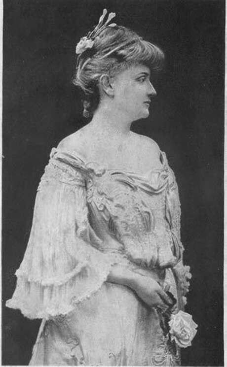 Gertrude Atherton in a portrait.