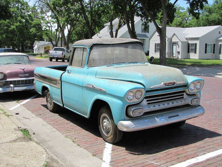 1958 Chevrolet Cameo Pickup (1.3 miles)            –   sold for $140,000