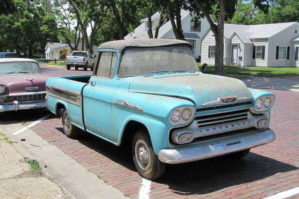 1958 Chevrolet Cameo Pickup (1.3 miles) - sold for $140,000