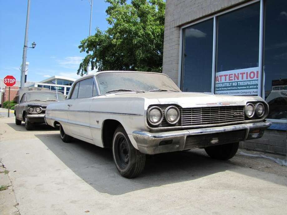 1964 Chevrolet Impala 2 dr. hardtop (4 miles) – sold for $75,000