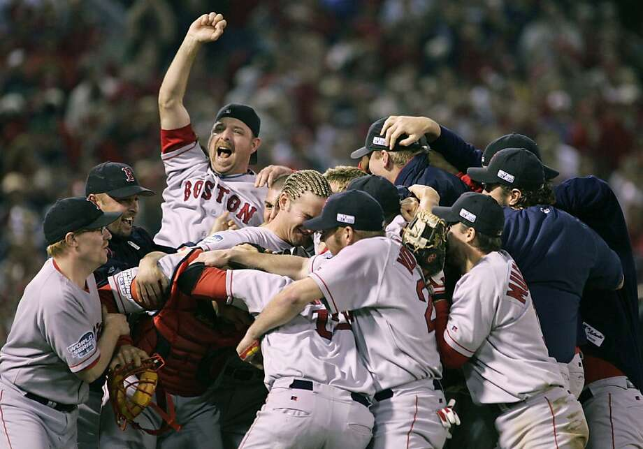 1. The 2004 Boston Red Sox set the standard for comebacks. They broke curses, made famous bloody socks and, best of all, defeated the high-and-mighty Yankees. Boston fans may be their own kind of insufferable, but nearly all of baseball cheered for them when they became the only team in MLB history to win a best-of-seven series after going down 3-0. Photo: Mike Blake, REUTERS