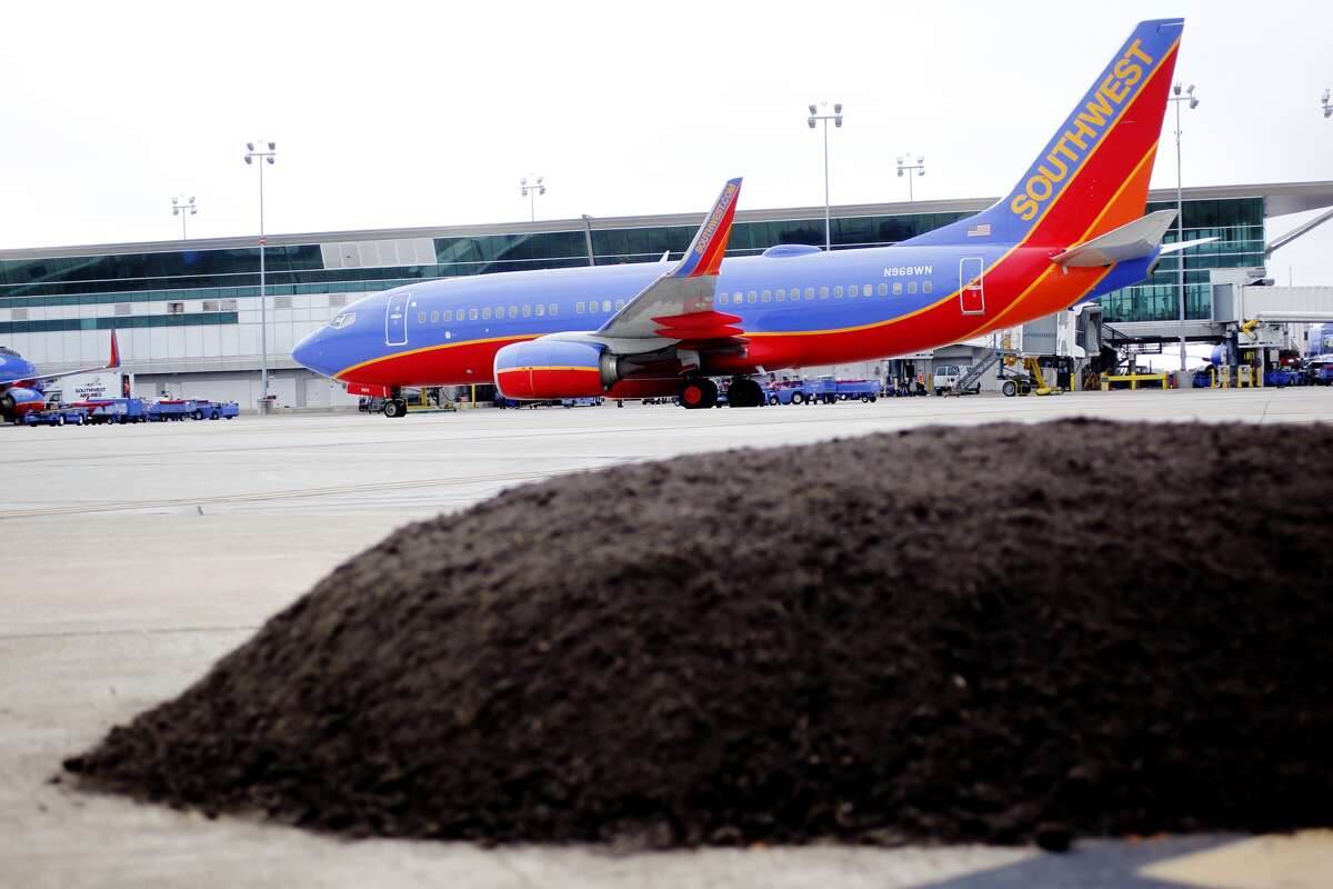Construction began today on the new Southwest Airlines International Terminal at Hobby Airport.