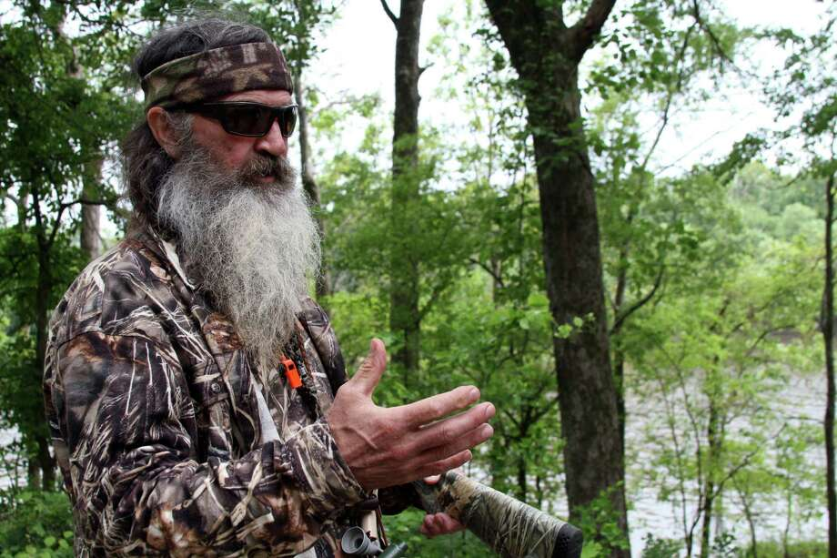 This photo taken May 15, 2013 shows Phil Robertson posing for a photograph at his home in western Ouachita Parish, La., Life for the West Monroe Robertsons, America¹s most famous family, has become an exciting, but exhausting, blur after their success in reality TV. (AP Photo/The News-Star, Margaret Croft) Photo: Margaret Croft, Associated Press / The News-Star