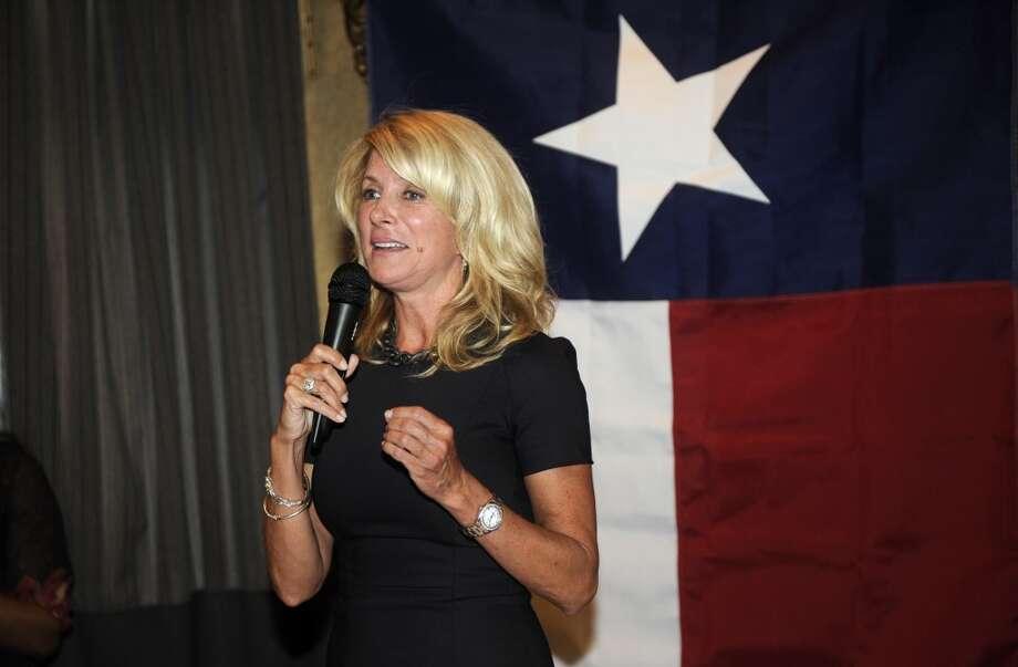It's Sen. Wendy Davis.
