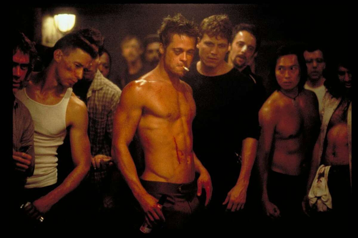 Pitt in the 1999 film, 'Fight Club.'