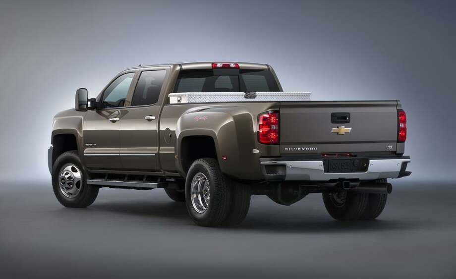 2015 Chevrolet Silverado 3500 HD LTZ Photo: Courtesy Of Chevrolet