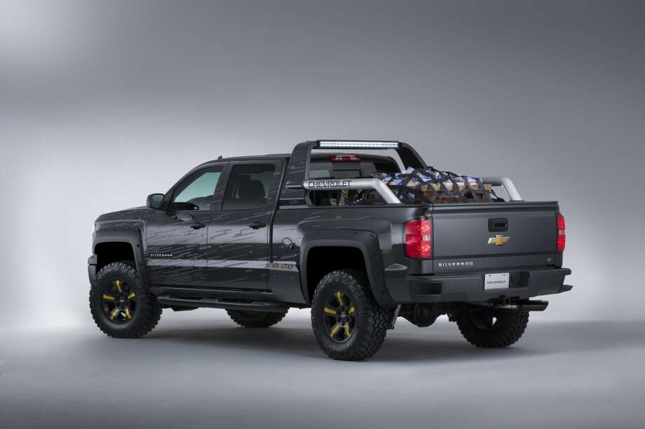The SEMA Black Ops concept, based on the Chevrolet Silverado Crew Cab 4x4 builds on its strength, performance and safety with features designed to turn the wasteland into an oasis. Whether it's a hurricane the likes of which only Hollywood special effects artists could dream up or other unforeseen emergency, it's ready for anything.