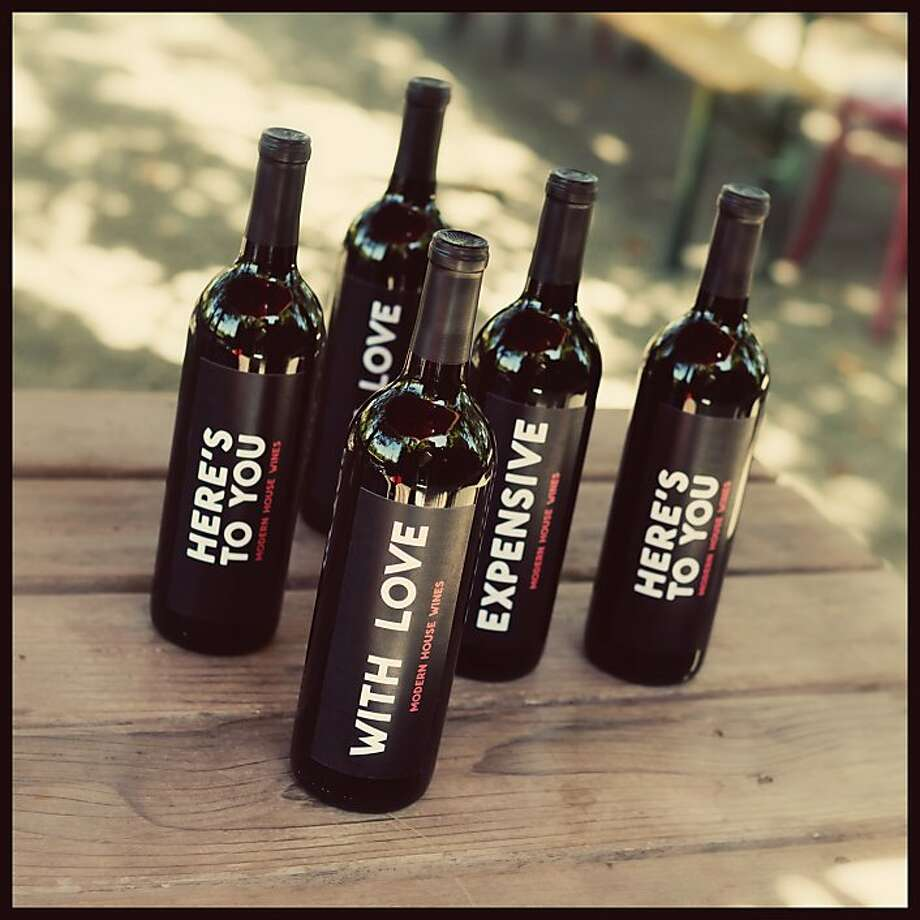 Alexis Trainas Modern House Wine A Proprietary Red Blend From Swanson Vineyards Debuts At