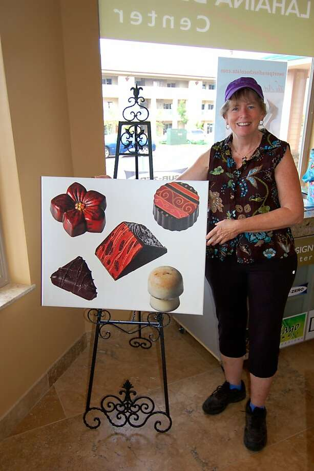 With a new Maui farm, Sweet Paradise Chocolatier owner Melanie Boudar's local ingredients will soon be homegrown as well. Photo: Jeanne Cooper