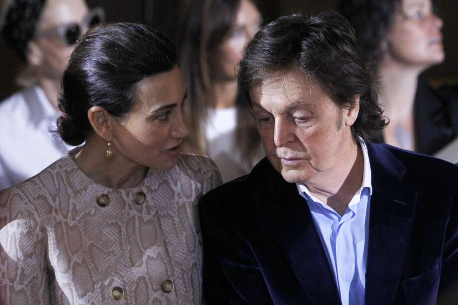 Nancy Shevell, left, and Sir Paul McCartney Photo: Thibault Camus, Associated Press