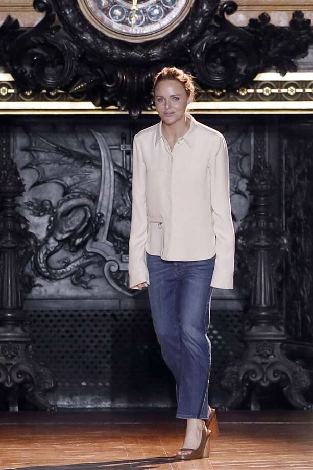 British designer Stella McCartney Photo: PATRICK KOVARIK, AFP/Getty Images