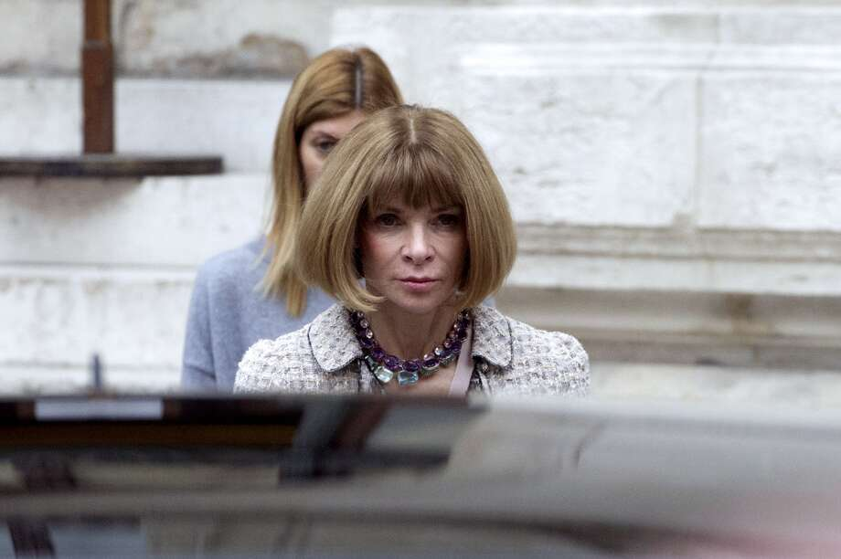 US fashion editor Anna Wintour Photo: FRED DUFOUR, AFP/Getty Images