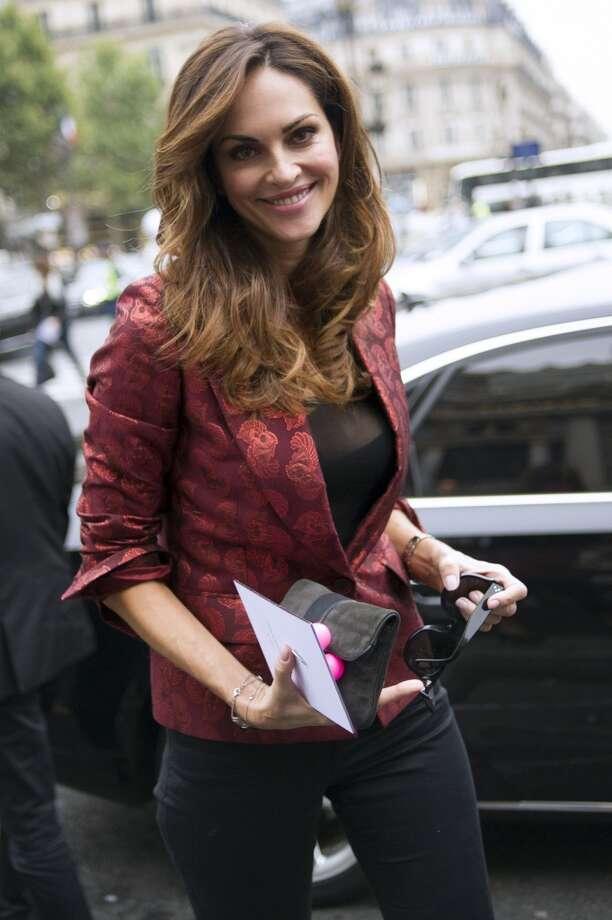 Portuguese model Tasha de Vasconcelos Photo: FRED DUFOUR, AFP/Getty Images