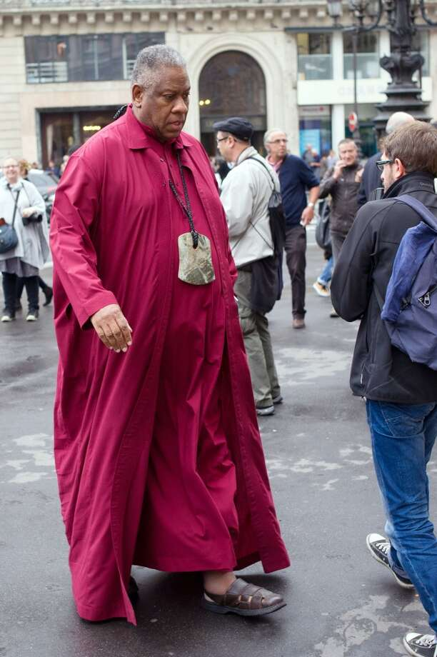 US fashion editor Andre Leon Talley Photo: FRED DUFOUR, AFP/Getty Images