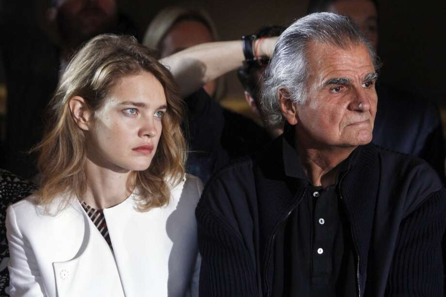 Natalia Vodianova, left, and fashion photographer Patrick Demarchelier Photo: Thibault Camus, Associated Press