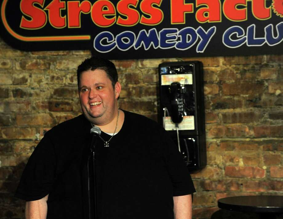 Too big to ignore: comedian Ralphie May performs at the Klein Auditorium in Bridgeport on Friday, Oct. 10. Photo: Contributed Photo / Connecticut Post Contributed