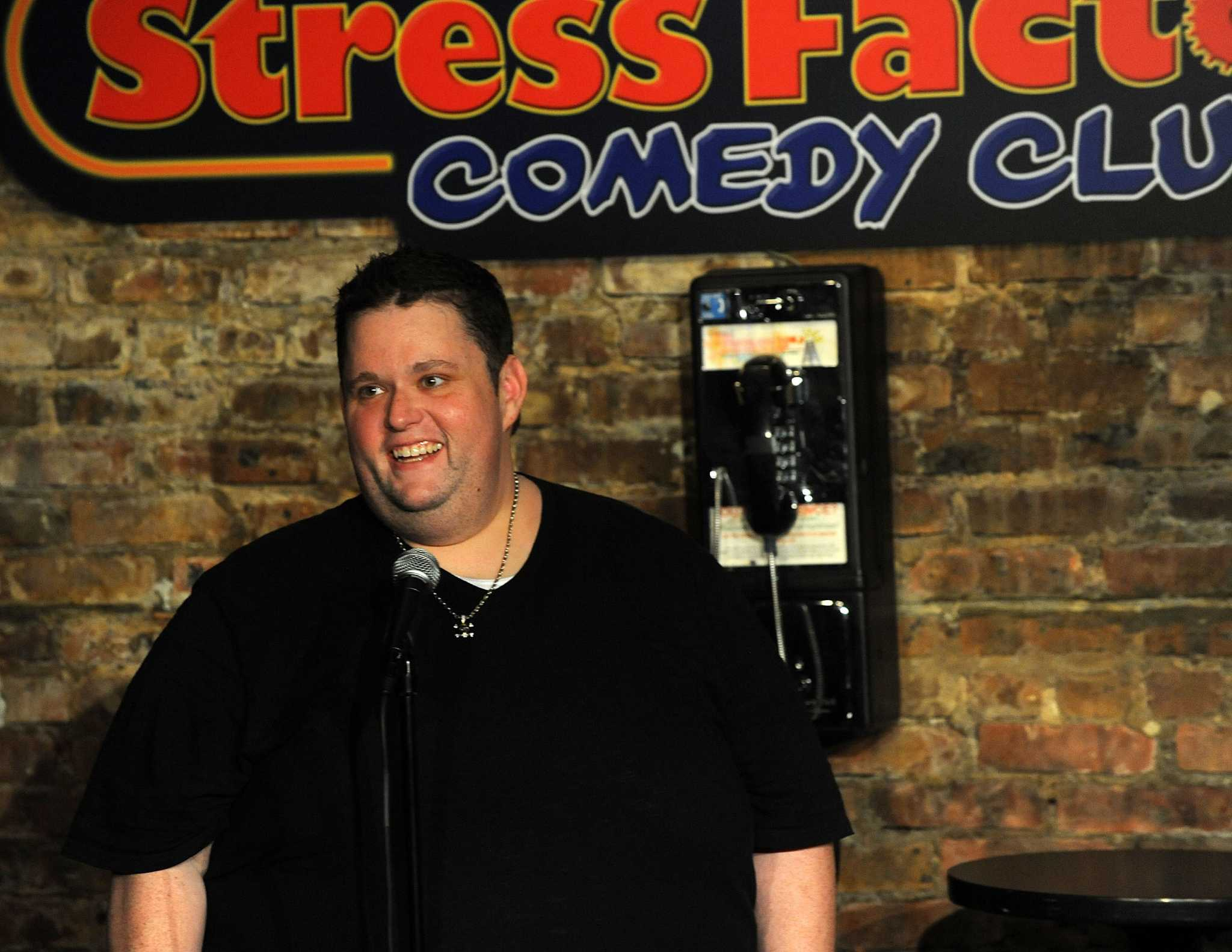 comedian ralphie may performs in bridgeport connecticut post