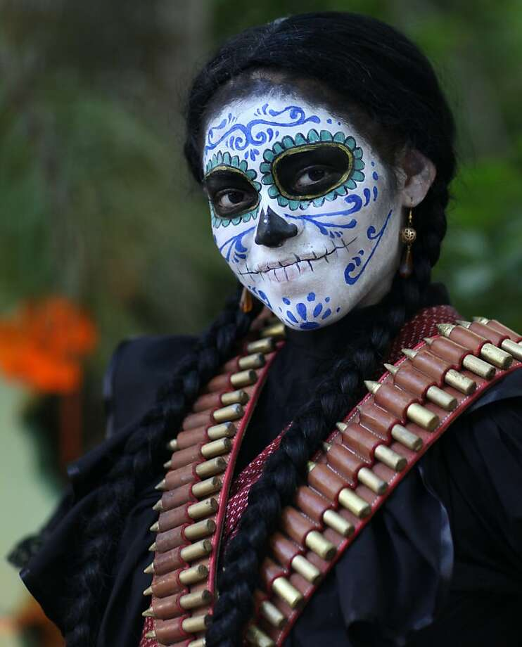 The Day of the Dead celebration (Nov. 1-2) celebration produces some of Mexico's most joyous pageantry, and the Caribbean coast is no exception — the Maya version here is called Hanal Pixán. Photo: Hans Reinhard