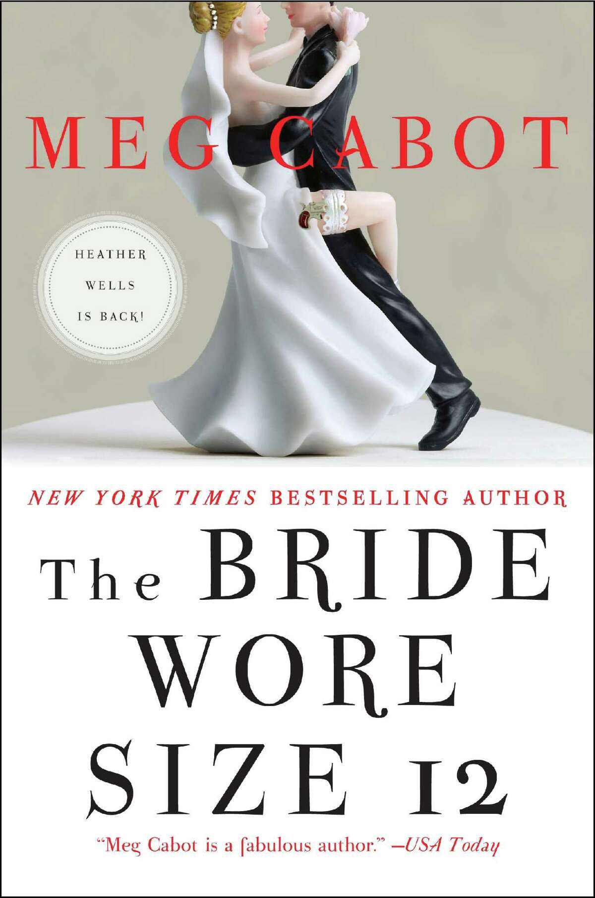 """Best known for the enormously successful young adult """"Princess Diaries"""" series, Meg Cabot has branched out into other genres in recent years. Her new novel """"The Bride Wore Size 12"""" is a murder mystery set in a New York City."""
