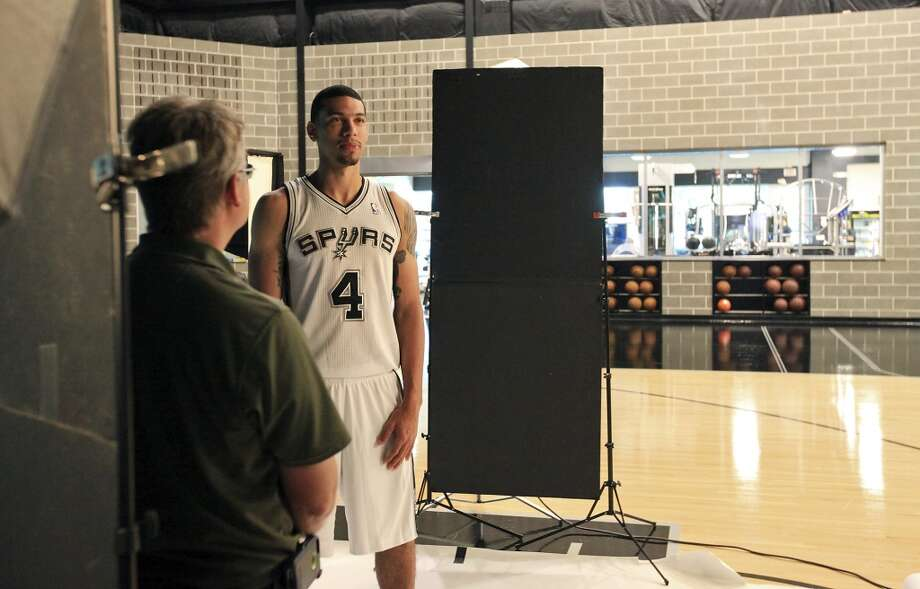 San Antonio Spurs' Danny Green poses for a photo during media day Monday Sept. 30, 2013 at the team's practice facility. Photo: Edward A. Ornelas, San Antonio Express-News
