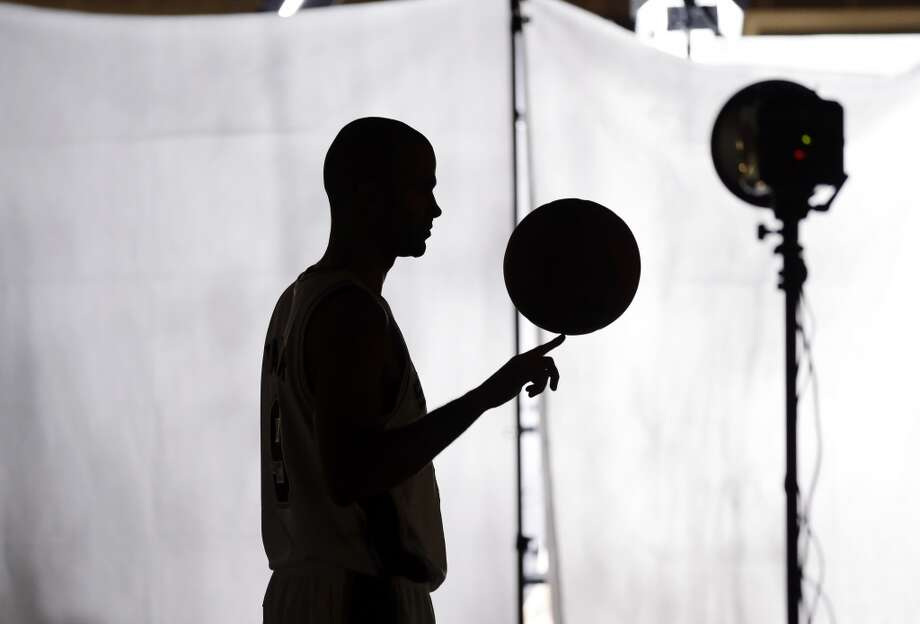 San Antonio Spurs' Tony Parker, of France, poses for a photo during their NBA basketball media day, Monday, Sept. 30, 2013, in San Antonio. Photo: Eric Gay, Associated Press