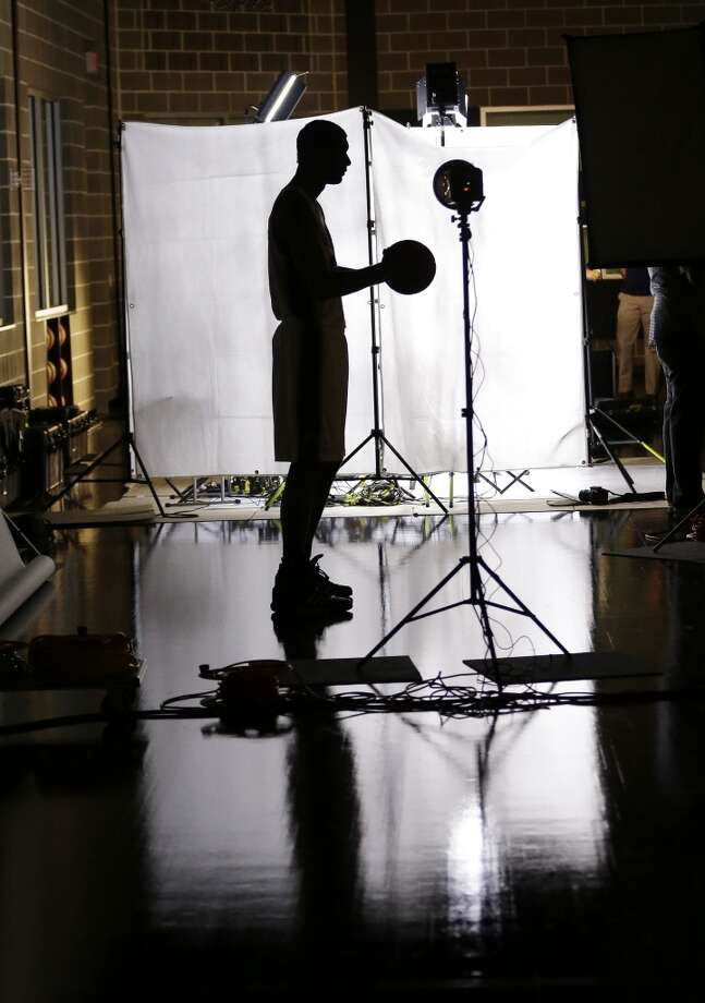 San Antonio Spurs' Tim Duncan poses for a photo during their NBA basketball media day, Monday, Sept. 30, 2013, in San Antonio. Photo: Eric Gay, Associated Press