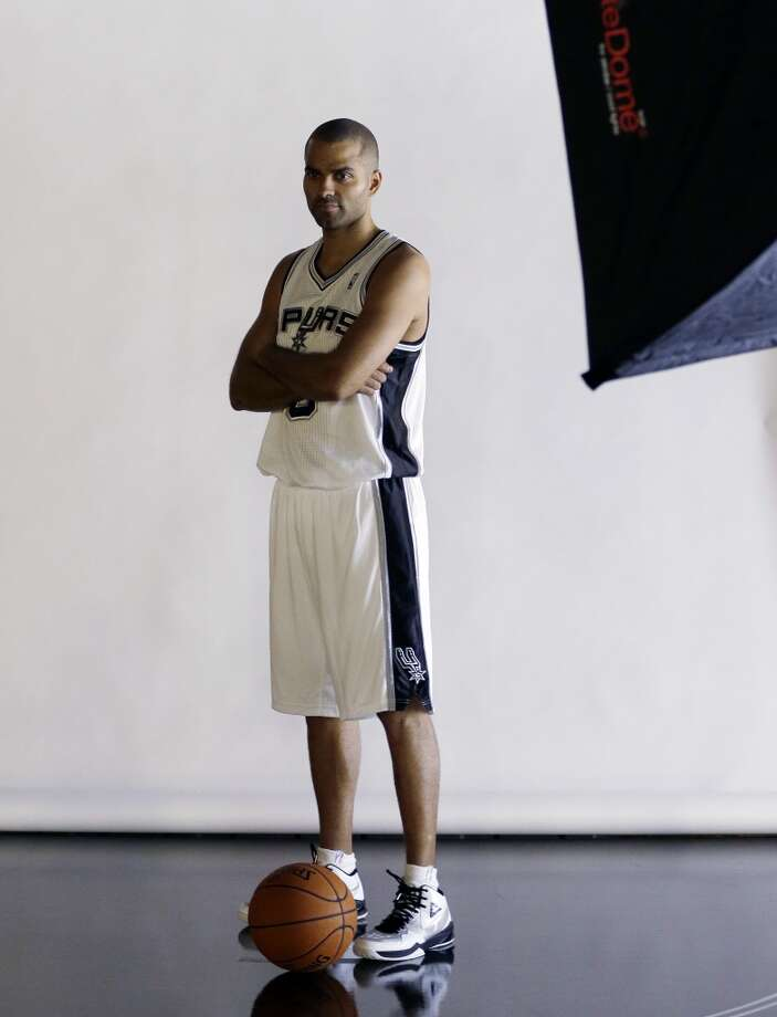 San Antonio Spurs' Tony Parker, of France, poses for a photo at the team's workout facility during their NBA basketball media day, Monday, Sept. 30, 2013, in San Antonio. Photo: Eric Gay, Associated Press