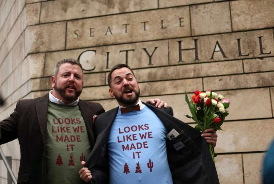 Recently released Census Bureau statistics show Seattle has more same-sex couples per capita than nearly any other American city. Click through to see how Seattle stacks up, and how other Washington cities compare.