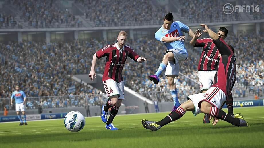 """FIFA"" may be the video game in the sports genre that most closely resembles the sport it represents - soccer. Photo: Courtesy EA Canada"