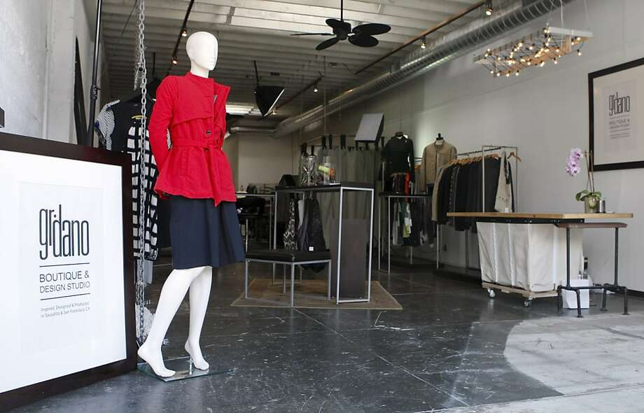 Gr.dano's store and design studio are in Sausalito; the clothing is made in San Francisco. Photo: Raphael Kluzniok, The Chronicle