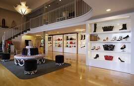 Shoes and bags are seen on display at Shoe Stories of Sausalito, 22 El Portal, in Sausalito on Saturday, Sept 20, 2013.