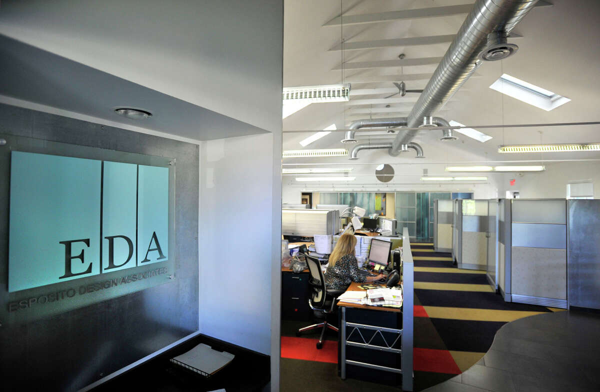 The inside of Esposito Design Associates in Stamford, Conn., on Monday, Sept. 30, 2013. The architectural firm redesigned the interior of an old church, which became their offices.