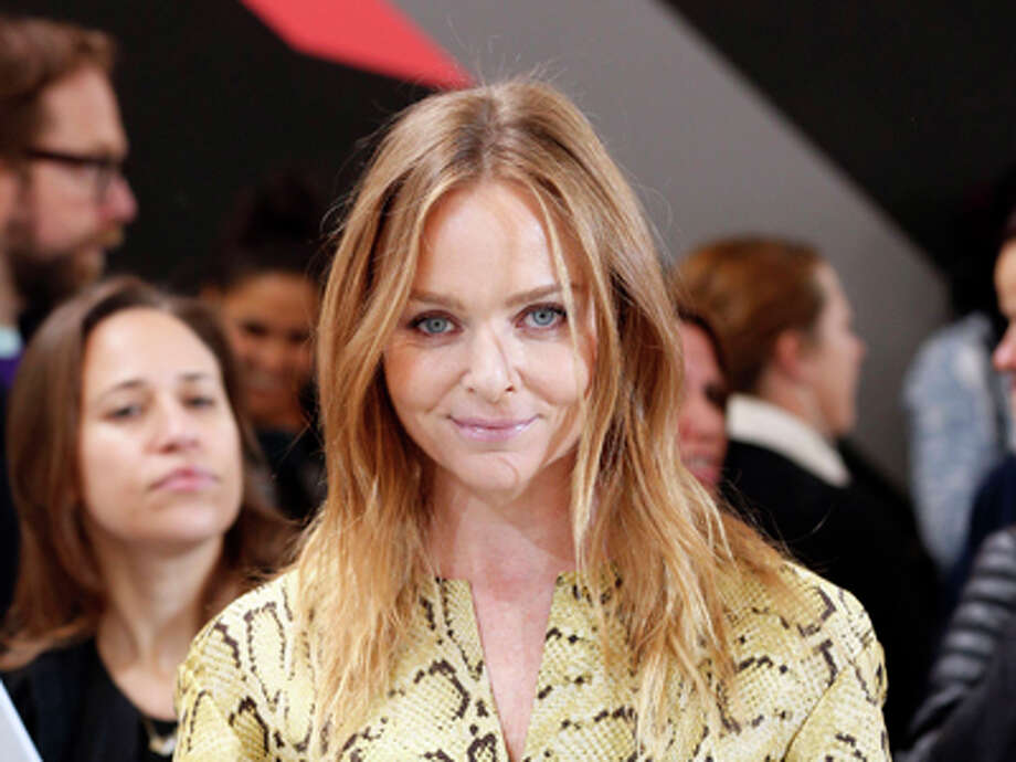 Stella McCartney poses for photographers during the Adidas by Stella McCartney presentation at London Fashion Week, Tuesday Sept. 17, 2013. (AP Photo/PA, Jonathan Brady) UNITED KINGDOM OUT  NO SALES  NO ARCHIVE Photo: Jonathan Brady, Ap / PA