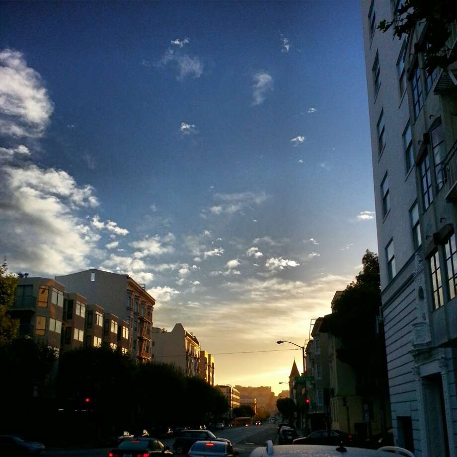 Brandy Schirato, who Instagrams as @EatDrinkBrandy, is a Bay Area native who lives in Alamo Square. She took this photo at the corner of Broadway and Gough.