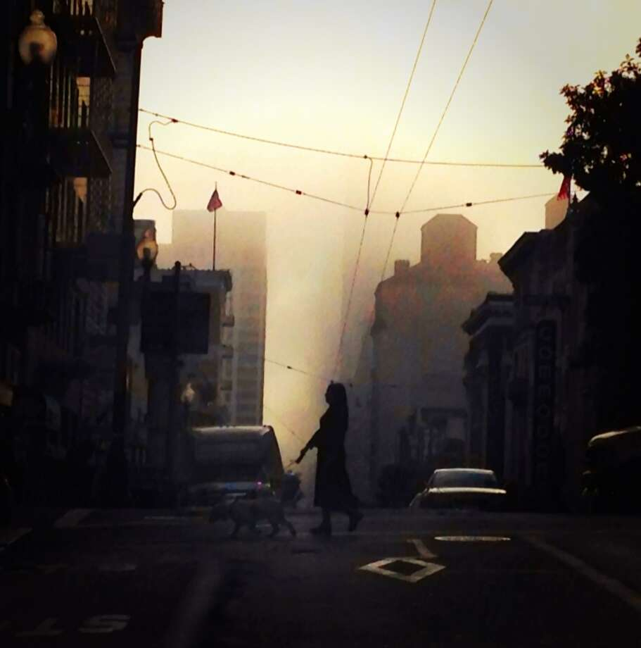 "Kat Borgen, who is @katborgen on Instagram, writes that she is ""Norwegian, living in SF - and absolutely in love with the beauty of San Francisco... I especially love how the fog obscures, frames, layers and tends to make the most prosaic views magical."""