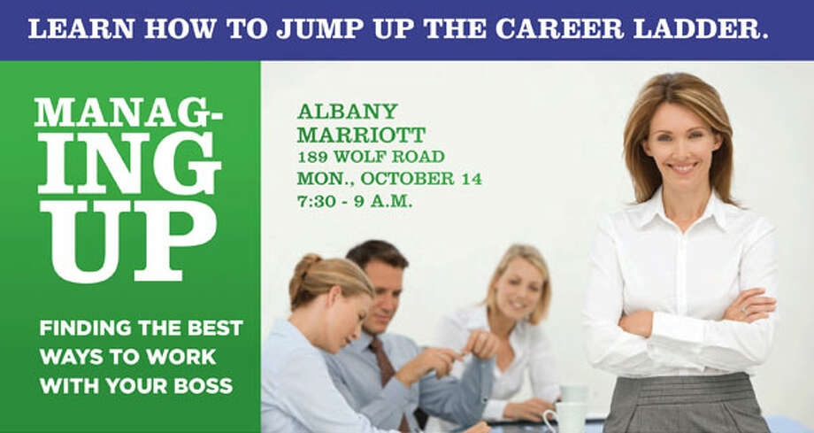 """Managing Up: The Best Way to Work With Your Boss"" breakfast panel to be held Monday, Oct. 14."
