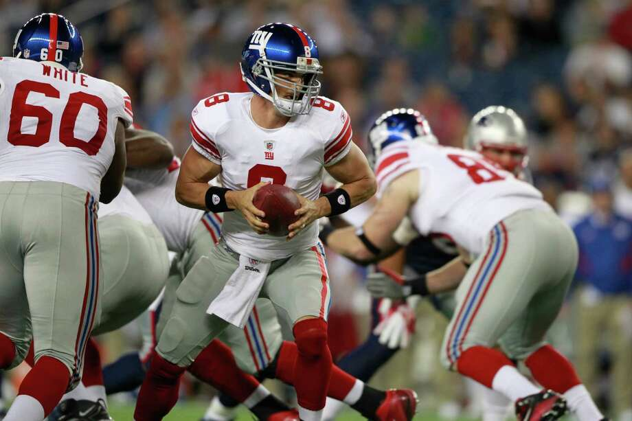 David Carr returned to the Giants in 2011. Photo: Michael Dwyer, Associated Press / AP2011