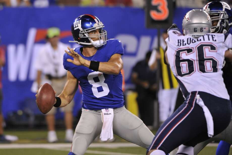 During the 2012 season, David Carr appeared in two games. Photo: Bill Kostroun, Associated Press