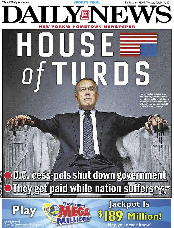 Daily News, New York Photo: Newseum.org